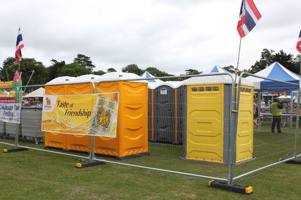 Portable Toilets at Chichester Festival