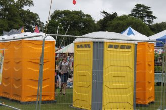 To You Loos portable toilets at Chichester festival